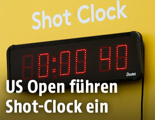 Shot-Clock beim Golf