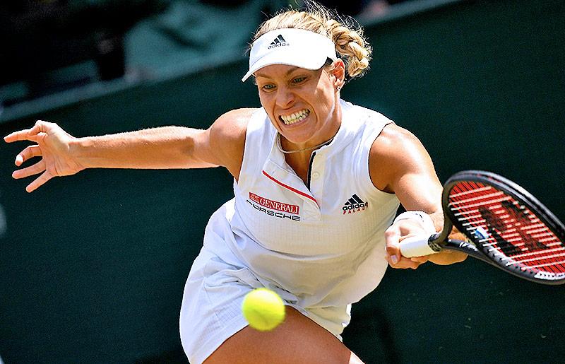 Deutsche Tennisspielerin Angelique Kerber