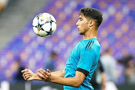 marokkanischer Fußballnationalspieler Achraf Hakimi