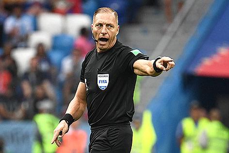argentinischer Schiedsrichter Nestor Pitana