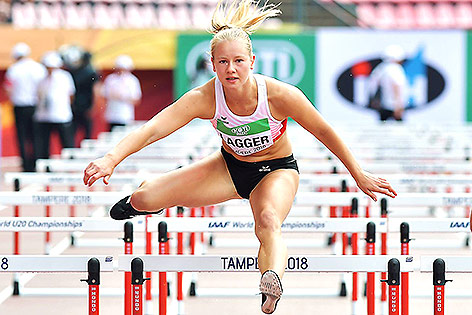 Leichtathletin Sarah Lagger