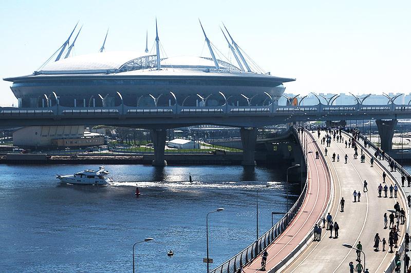 Stadion in St. Petersburg
