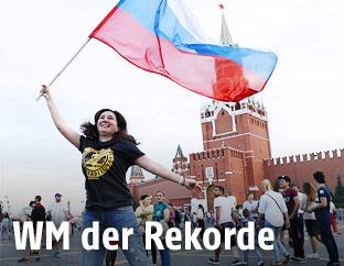 Russland-Fan