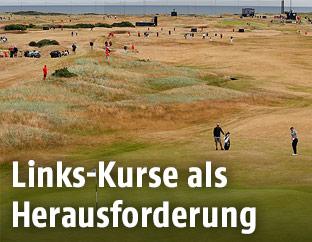 Golfplatz ohne Bäume