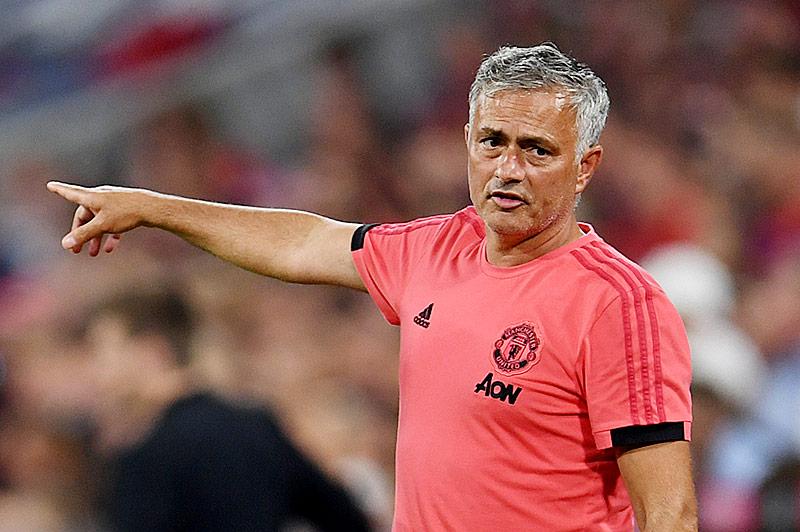Jose Mourinho, Trainer von Manchester United