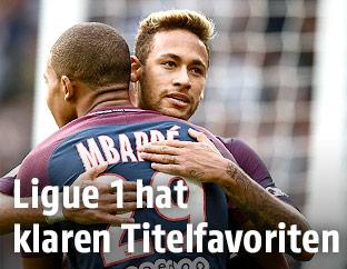 Mbappe und Neymar (PSG)