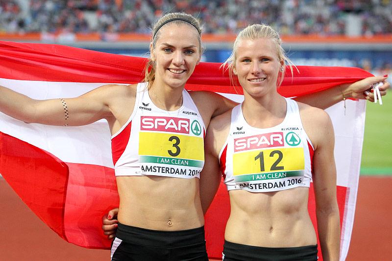 Ivona Dadic und Verena Preiner (AUT)