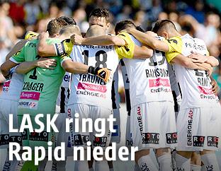 Jubelndes LASK-Team
