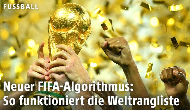 Pokal bei Weltmeisterschaft
